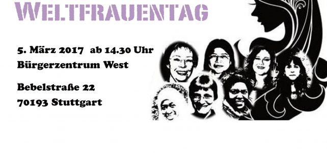 Frauentag am 5. März 2017 – Programm